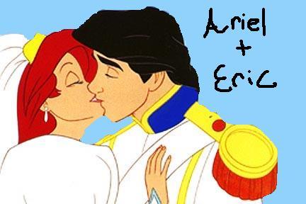 ariel and eric wedding kiss by nightangel5431 on DeviantArt