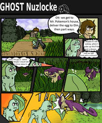 GHOST Nuzlocke - Page 11: Hungry Like The Wolf by ChicoryBlast