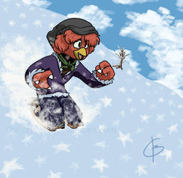 PKMNSkies Event: Snowboarding! Aldor edition by ChicoryBlast