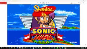 Shantae Mania Plus Placeholder Title Screen