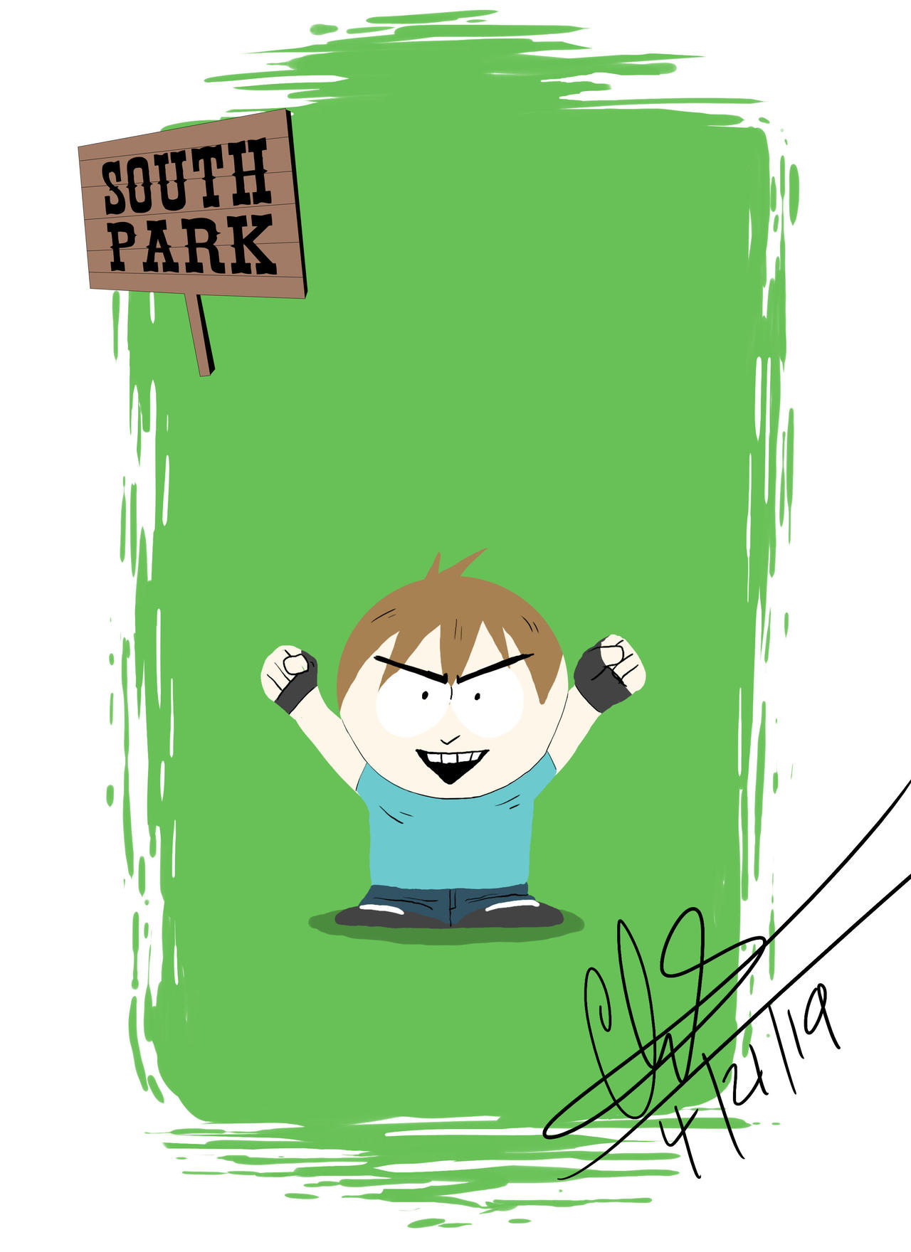 South Park 20 Style Challenge By Chettercheese On Deviantart