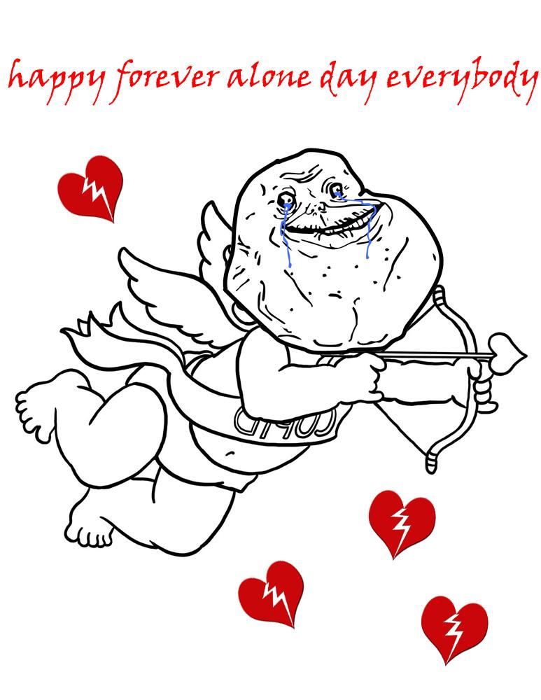 forever_alone_day_by_thejangodarkblade d - Forever Alone Valentines Day