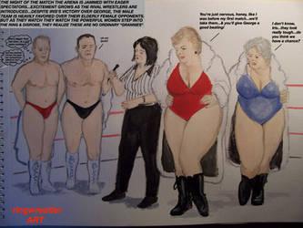 HHTRRC2-Inter-gender inter-generation tag match! by supreme006