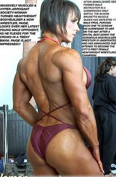 Society Woman, Heavyweight Bodybuilder-Wrestler