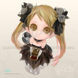 Commission - Doll selfy by u-ness