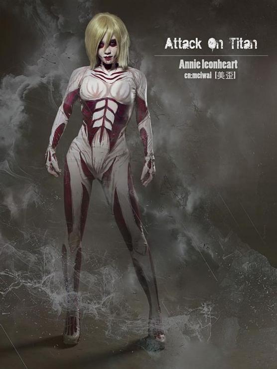 Anni Leonhart(The Female Titan) by Aelliseu