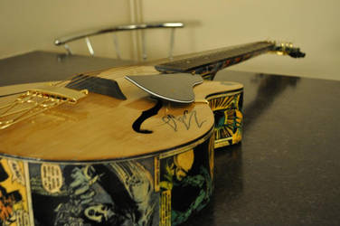 the Batman Guitar