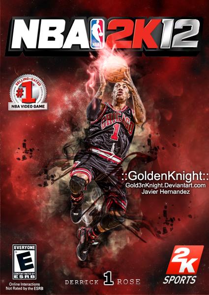 My Custom Derrick Rose NBA 2K1...