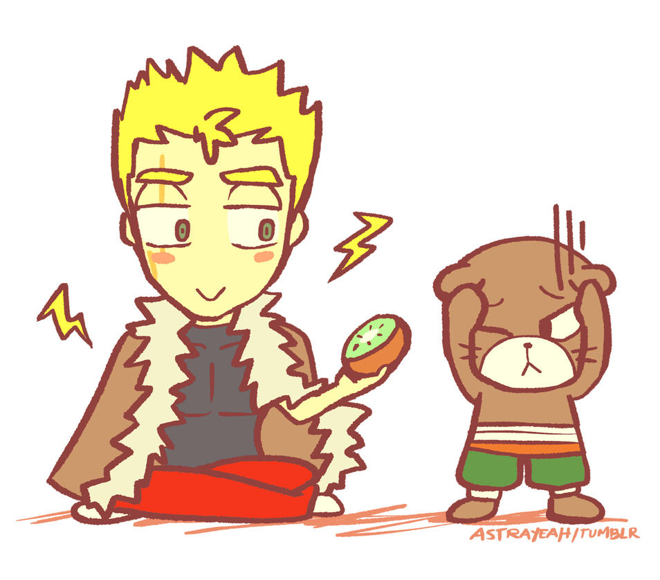 Fear and Kiwi by astrayeah on DeviantArt