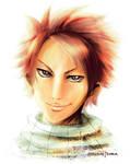 Dragon Slayer Portrait Project : Natsu