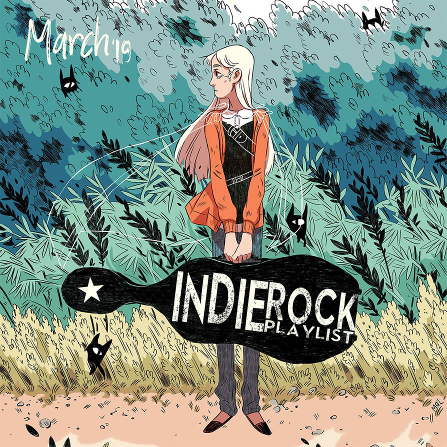 Indie/Rock Playlist: March (2019) by Criznittle