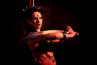 Dancer with Sword by CarlMillerPhotos