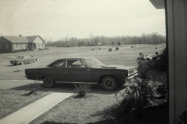 My Dad's 1968 Plymouth Road Runner by CarlMillerPhotos