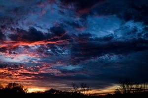 Daylight Savings Sunset by CarlMillerPhotos