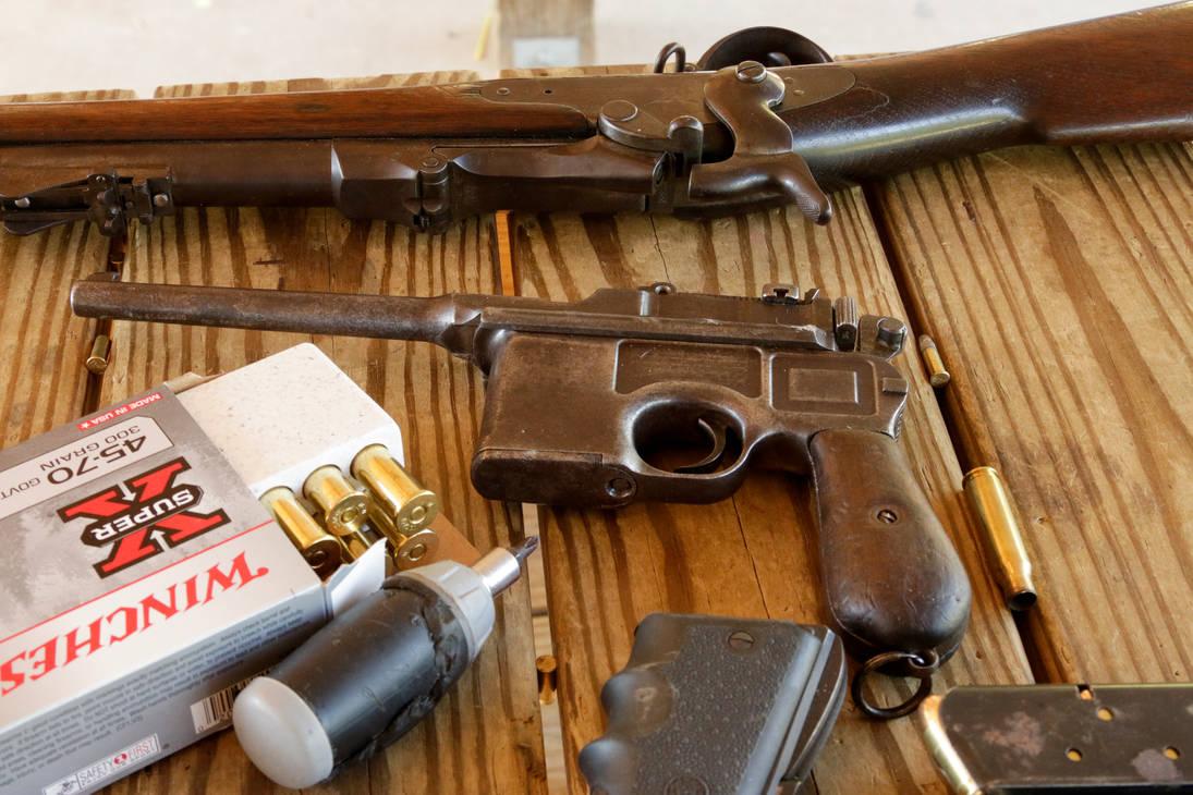 Mauser C96 by CarlMillerPhotos
