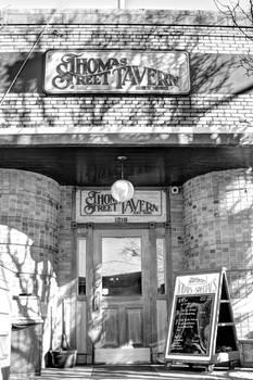 Thomas Street Tavern - B/W