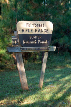 Fairforest Rifle Range - Sumter National Forest