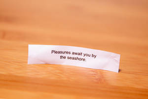 Fortune Cookie Wisdom - Pleasures Await