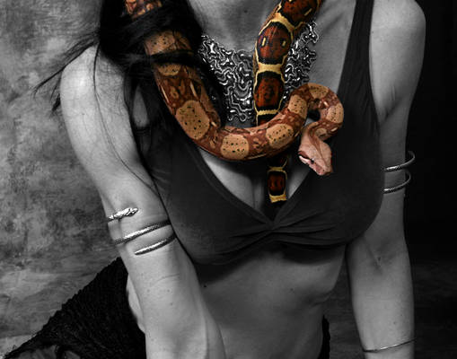 Dancer with Snake