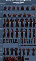Warlock Tier 5 [Corruptor Raiment] Reference Sheet