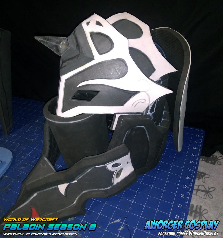 Paladin Season 8 Helm WIP by AWorger
