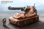 Synthwave Blaster Tank