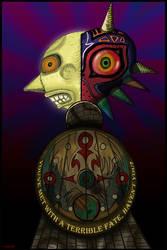 A Terrible Fate - Zelda: Majora's Mask Poster by FrigidPhoenix