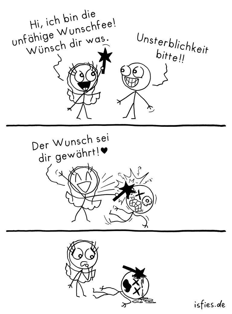 Unfaehige Wunschfee by islieb