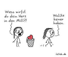 Herztrash islieb Comic