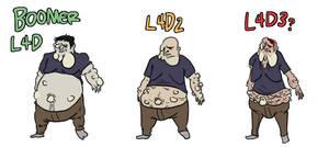 Left 4 Dead Projection: Boomer by JazzlasterBoris