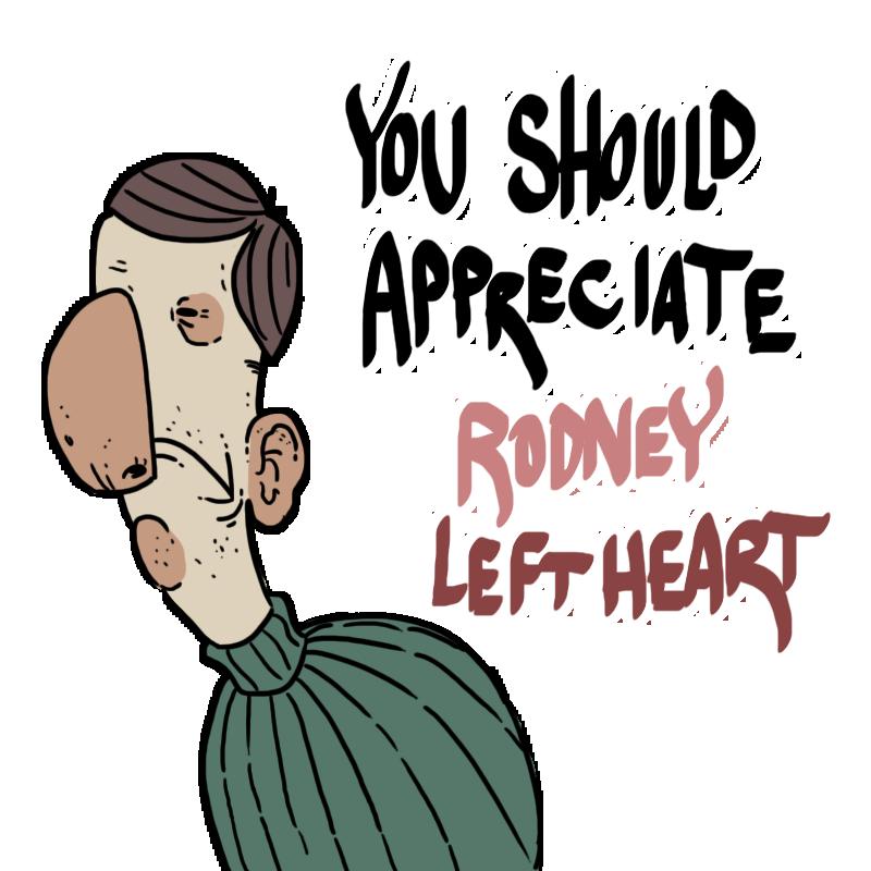 Rodney Leftheart by JazzlasterBoris