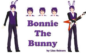 [Five Nights at Freddy's] Bonnie model by LizaSakura