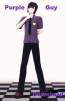 Purple Guy the Model ver1.3. Download! by LizaSakura