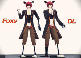 Foxy the Model. Download!Ver1.3 by LizaSakura
