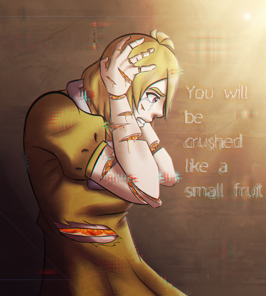 [FNaF] You will be crushed like a small fruit by LIZASAKURA