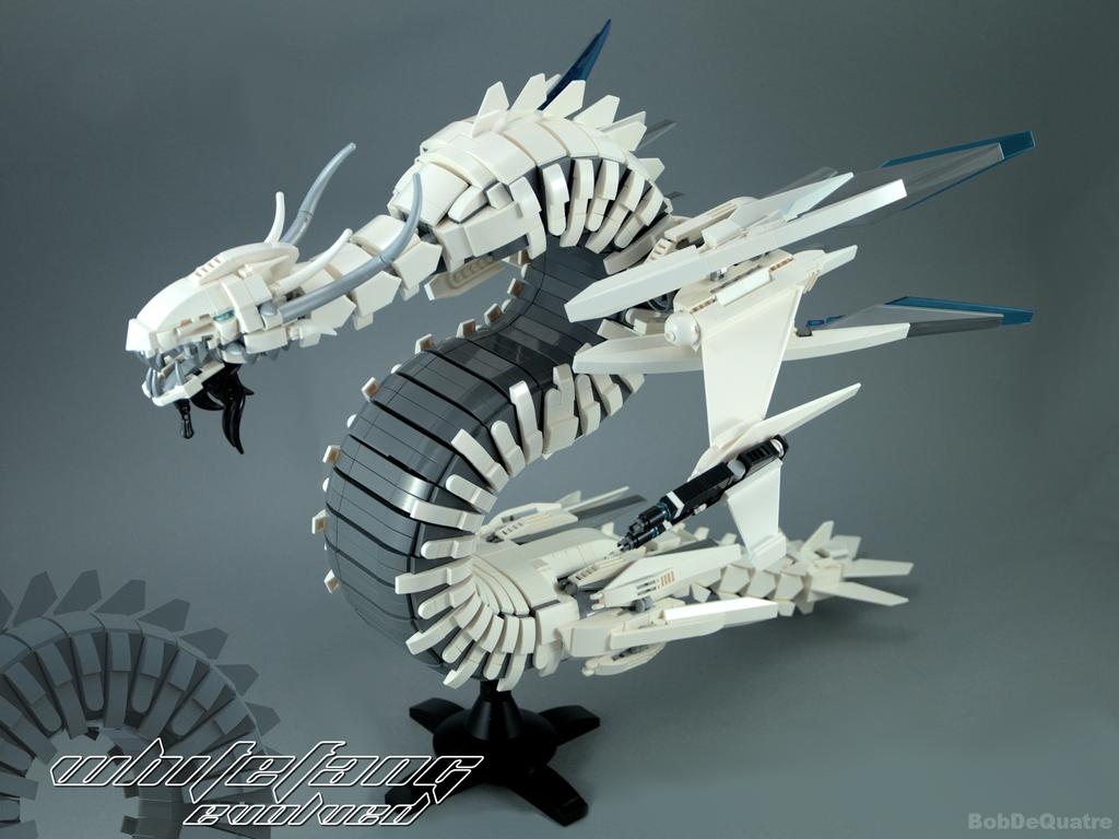 Whitefang Evolved by BakaBtC