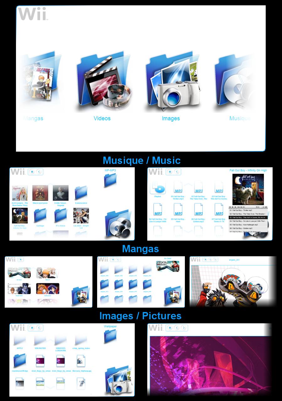 Wii Media Center by BakaBtC