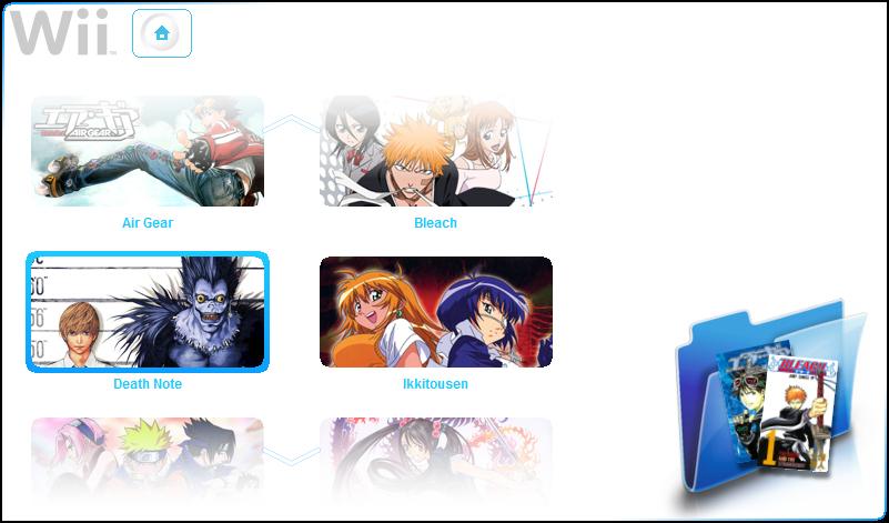 Wii MC mangas by BakaBtC