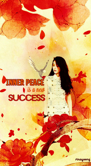 [230917] Inner peace is a new success