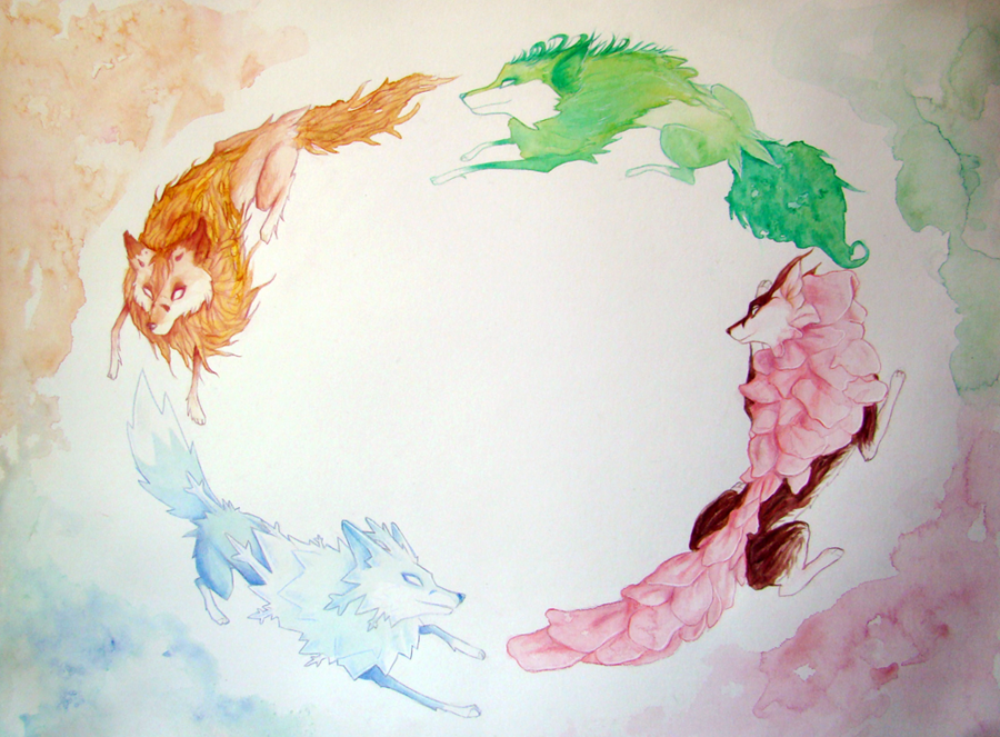Dance of seasons by Shalinka