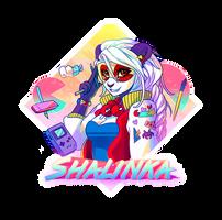 Badge Shalinka 80's by Shalinka
