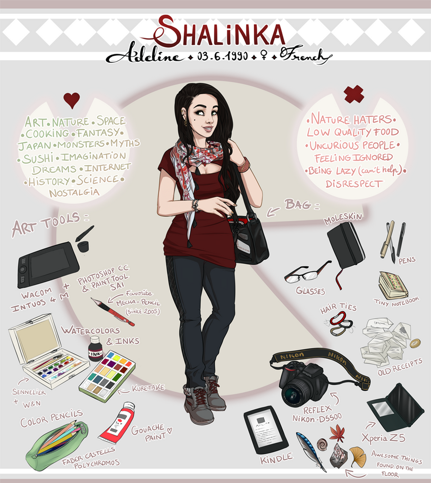 Meet the artist : Shalinka ! by Shalinka