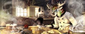 Tang Jun's kitchen