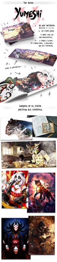 I'm making an ARTBOOK ! Yumeshi !
