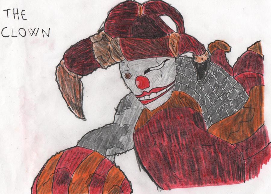 The Clown by gekkodimoria