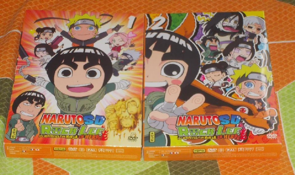 My French Rock Lee and His Ninja Pals DVDs by gekkodimoria