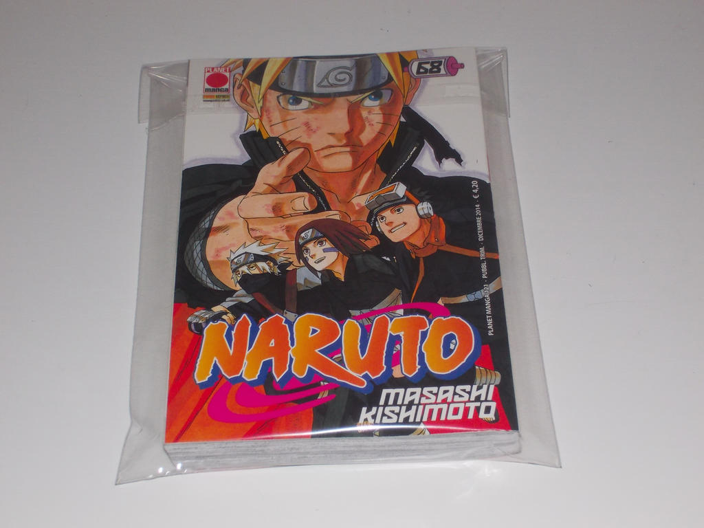 Naruto Cover 68(Italian) by gekkodimoria