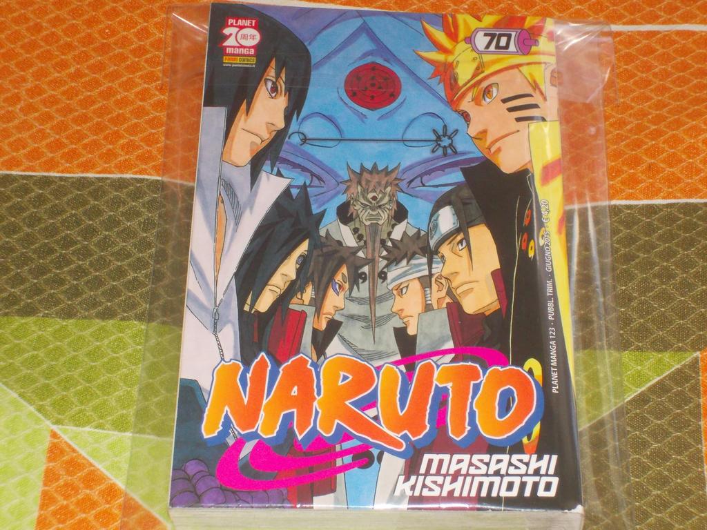 Naruto Cover 70 (Italian) by gekkodimoria