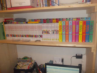 My first manga collection by gekkodimoria