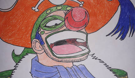 Jaya Arc Buggy the Clown by gekkodimoria
